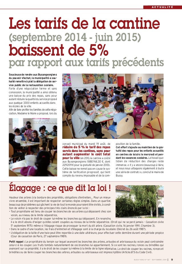 Le journal de bussy n 167 - Article 673 du code civil ...