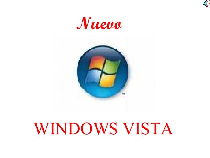 WINDOWS VISTA Nuevo