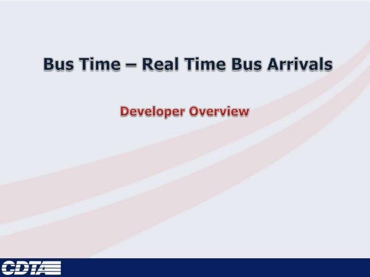 CDTA and Bus Plus• Capital District Transportation Authority – Big Blue  Bus• Bus Plus Launched in May 2011  –   Premium l...