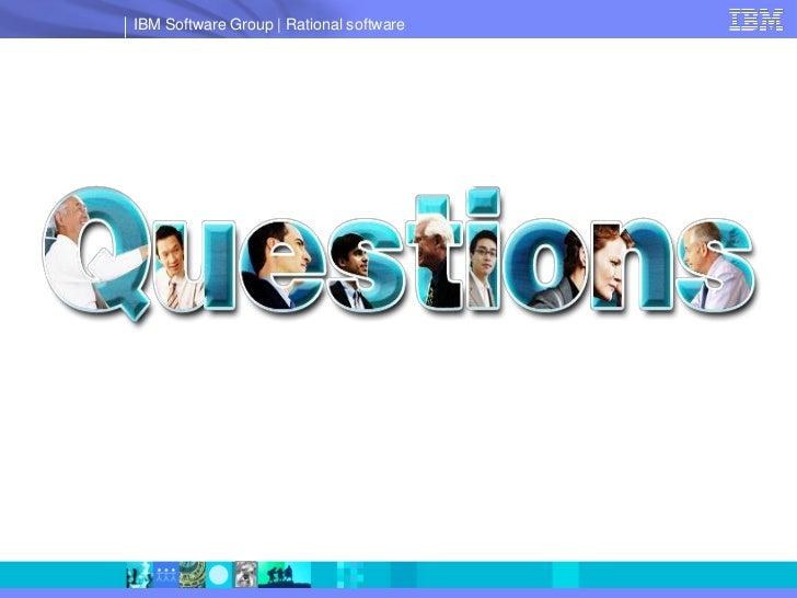 IBM Software Group   Rational software