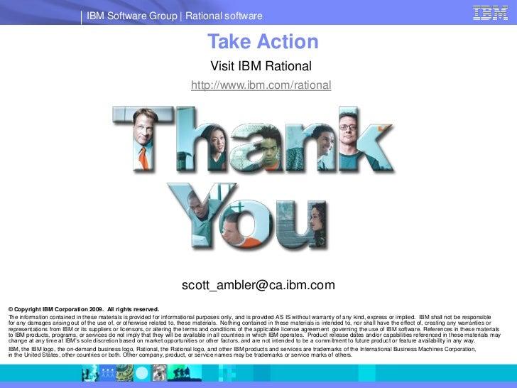 IBM Software Group   Rational software                                                                                Take...
