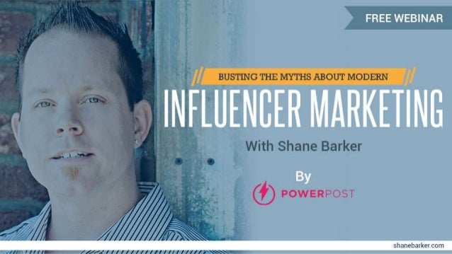 Busting the myths about modern influencer marketing ppt