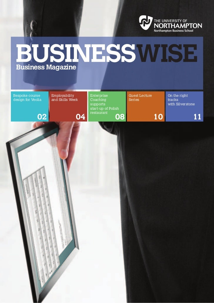 Business MagazineBespoke course      Employability     Enterprise           Guest Lecture        On the rightdesign for Ve...
