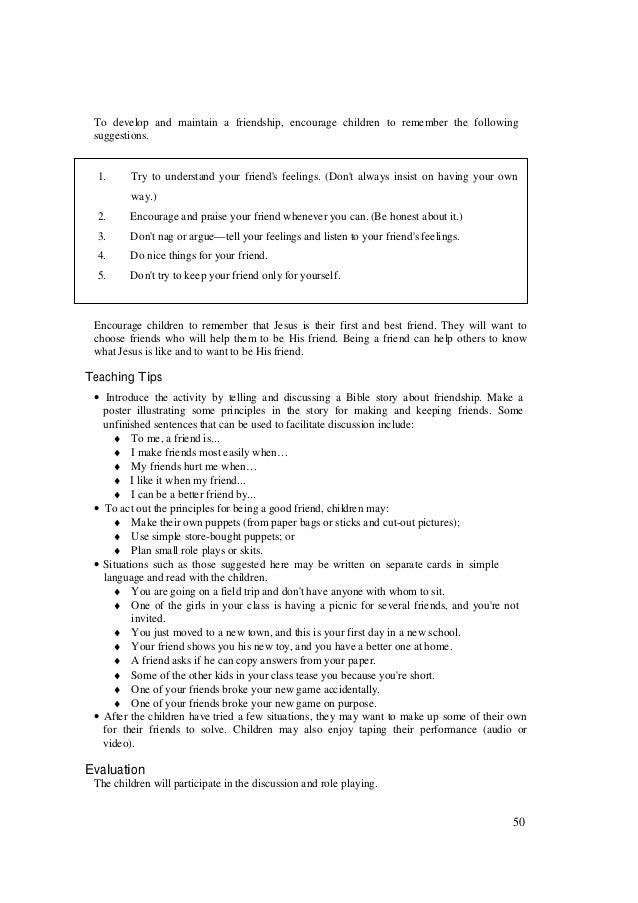 Busy bee teacher manual