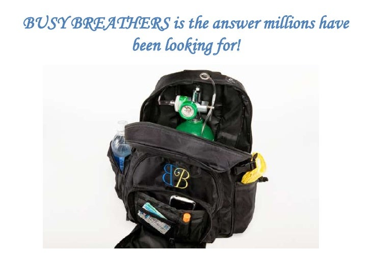 BUSY BREATHERS is the answer millions have been looking for!<br />