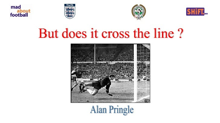 But does it cross the line ? Alan Pringle