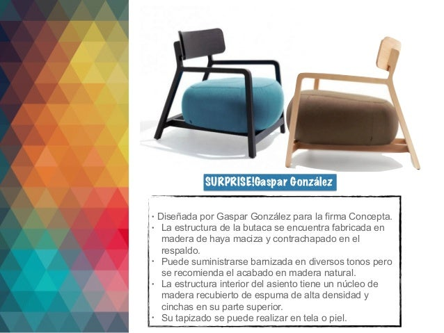 Investigación sobre butacas:Concepto, Butacas de Diseñadores.