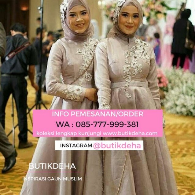 Butik Gamis Wisuda Indonesia Hubungi 085777999381