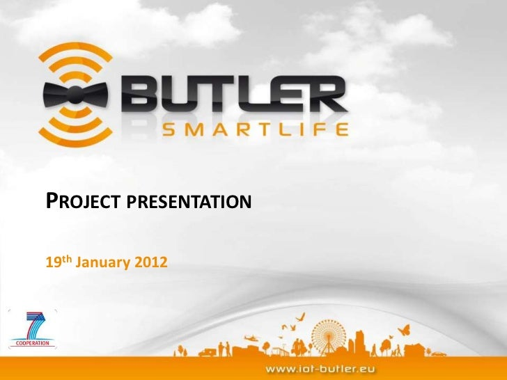 PROJECT PRESENTATION19th January 2012