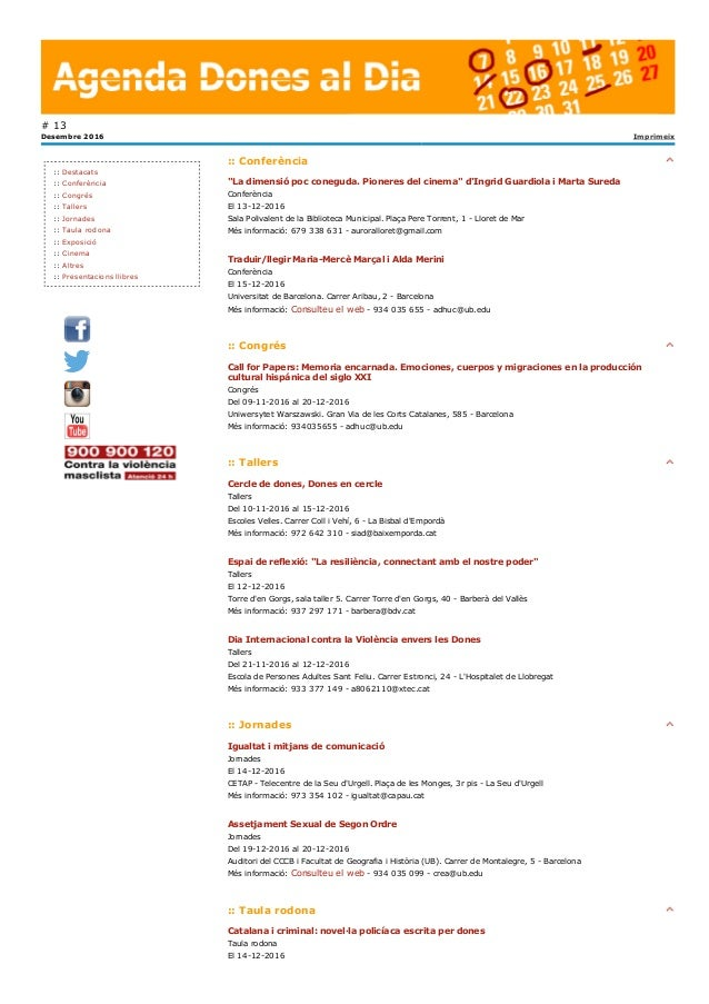 """::Conferència """"Ladimensiópocconeguda.Pioneresdelcinema""""d'IngridGuardiolaiMartaSureda Conferència El13122016..."""
