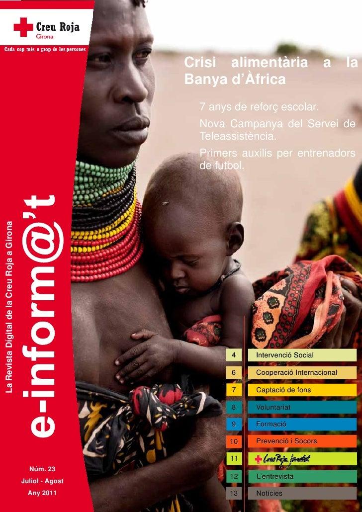Crisi alimentària                 a     la                                                               Banya d'Àfrica   ...