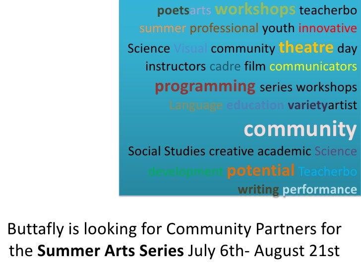 poetsarts workshops teacherbo                   summer professional youth innovative                 Science Visual commun...