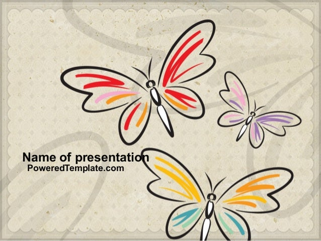 Name of presentation PoweredTemplate.com