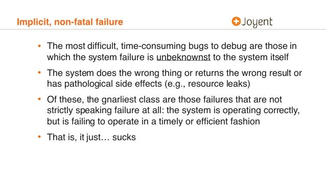 The Hurricane's Butterfly: Debugging pathologically performing systems Slide 3
