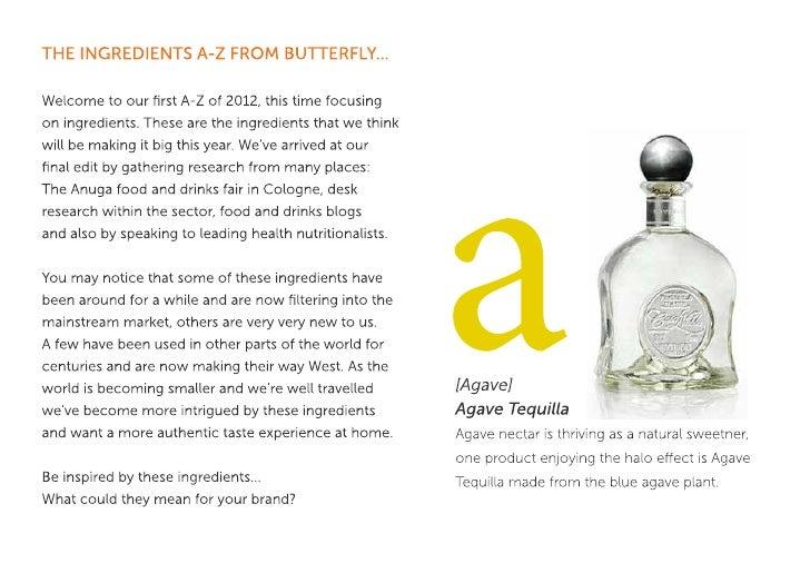 Butterfly Ingredients A-Z Slide 2
