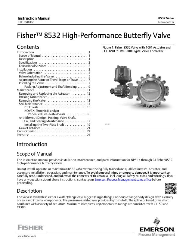 Actuated Butterfly Valves Manual Guide