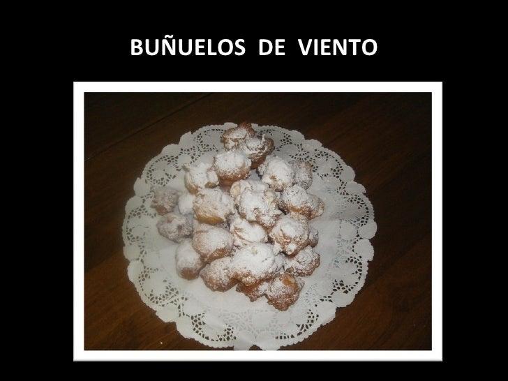 BUÑUELOS  DE  VIENTO