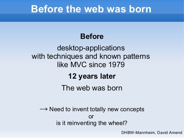 Thin Server Architecture SPA, 5 years old presentation Slide 3