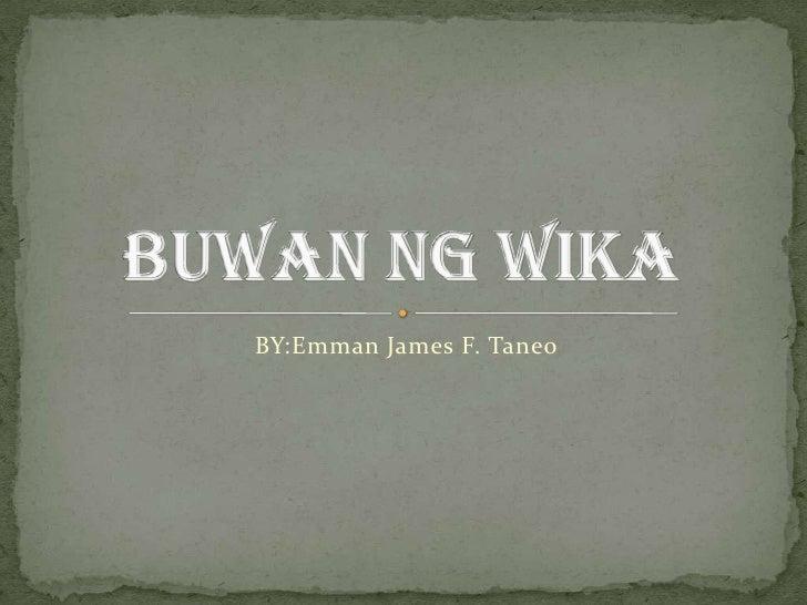sample narrative buwan ng wika