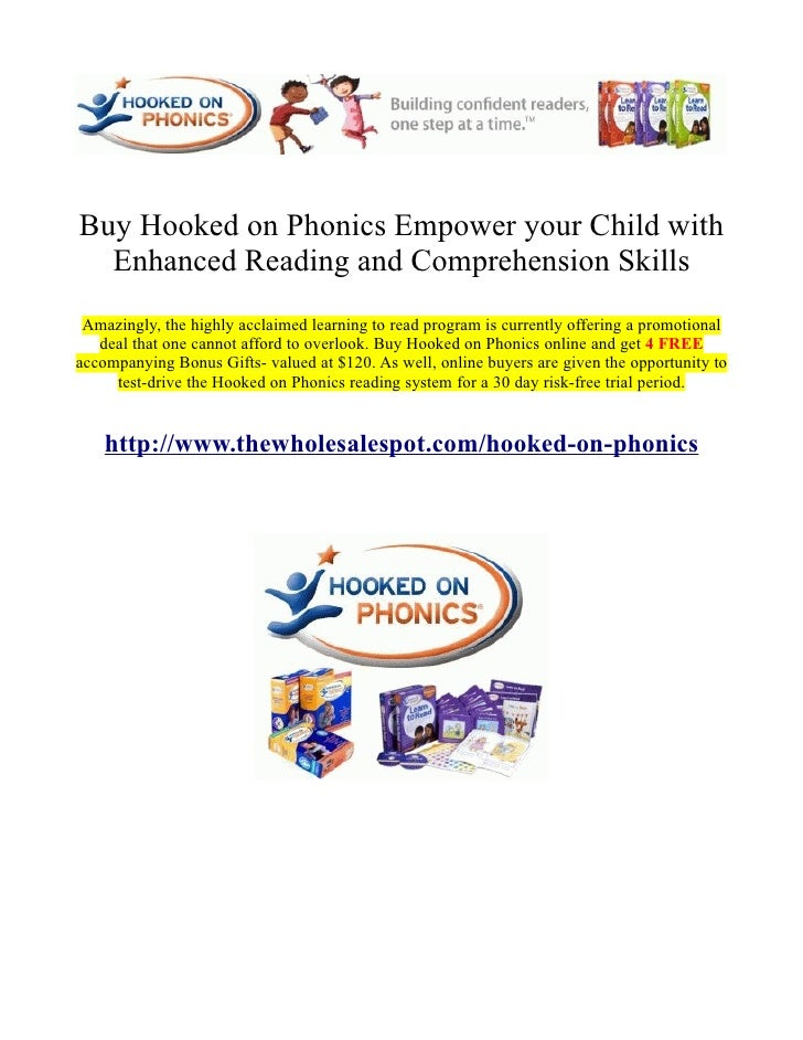 Buy Hooked on Phonics Empower your Child with  Enhanced Reading and Comprehension Skills Amazingly, the highly acclaimed l...