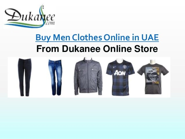 Online Men Clothing Shopping Store in UAE