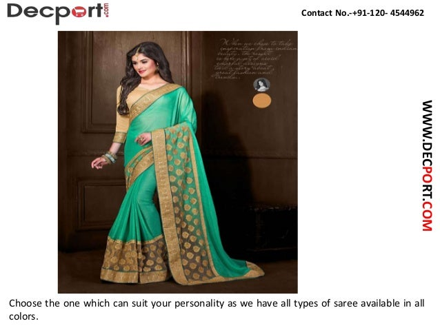 Buy Online Party Wear Saree In India Slide 3