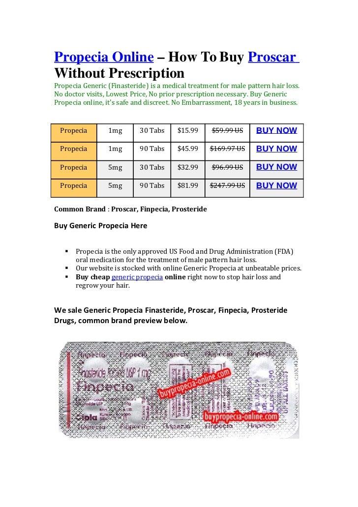 Buy Propecia Online No Without Prescription