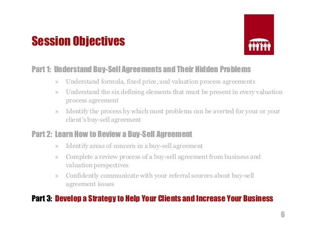 Structuring Effective Buy-Sell Agreements