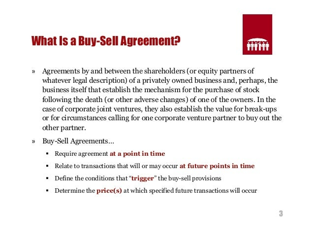 Structuring effective buy sell agreements 3 3 what is a buy sell agreement platinumwayz