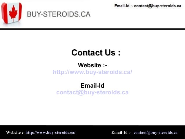 Buy Canadian Steroids Online In Canada ...