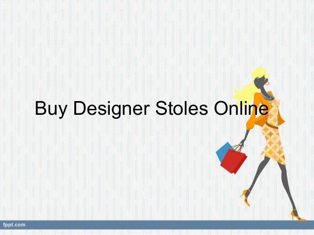 Buy Designer Stoles Online
