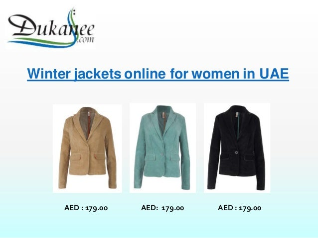 Shop Women winter Jackets online in UAE
