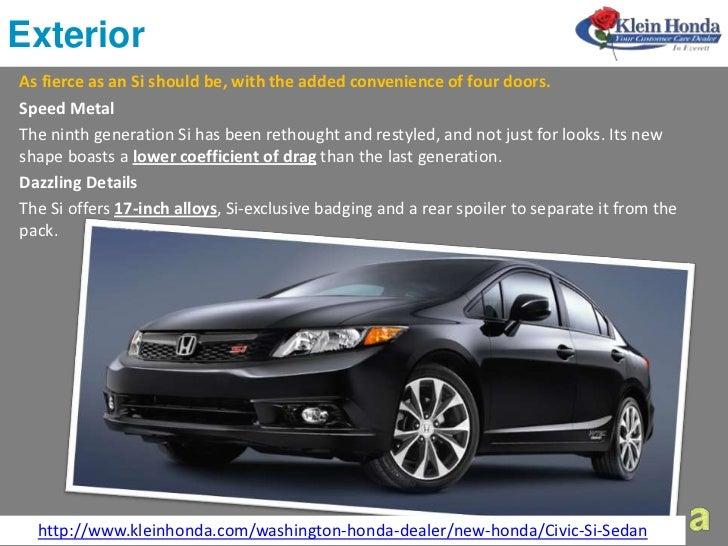 Buy A 2012 Honda Civic Sedan At Klein Honda In Everett For
