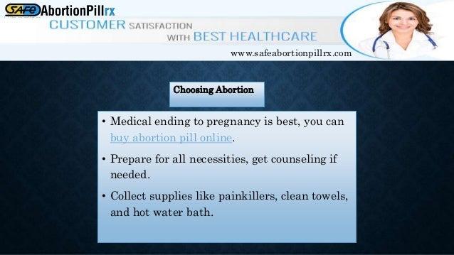 Three week pregnancy abortion tablets