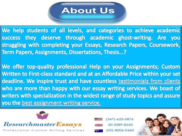 Discount research paper writing services