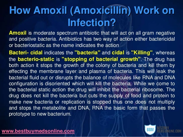 can infections use bacterial amoxicillin you for