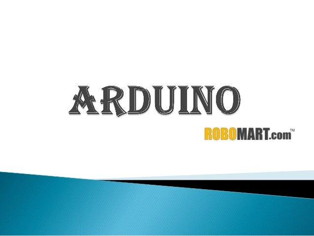 Buy an arduino board by robomart