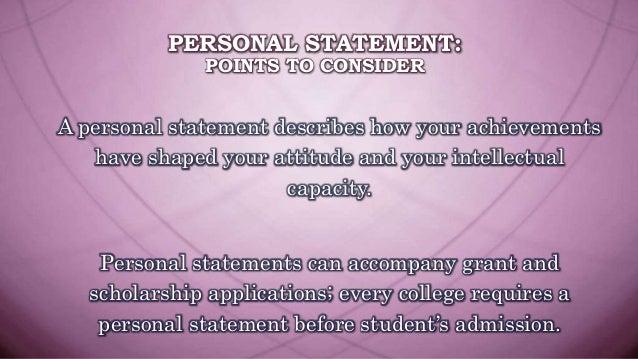 buy personal statement online