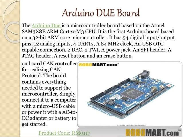 Buy arduino due ebay by robomart