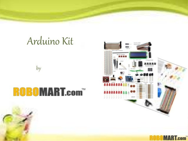 Buy arduino kit india by robomart