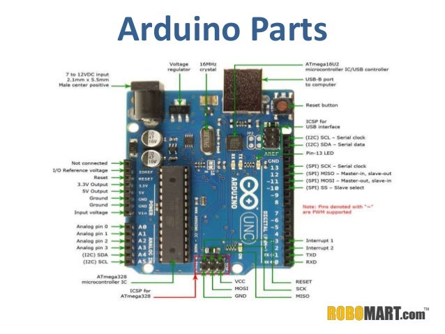 Buy Arduino Parts By Robomart on wiring cb to battery