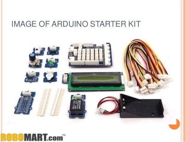 Buy arduino starter kit canada by robomart