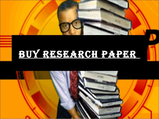 Buy reaserch paper