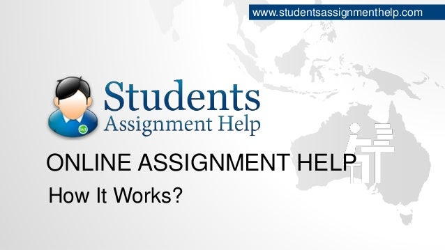 assignments online help Don't you have much time for preparation of online assignments don't worry my homework help offers high quality assignment solutions to let you have access to.