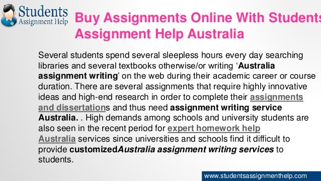 Why Students Need Assignment Help Services?