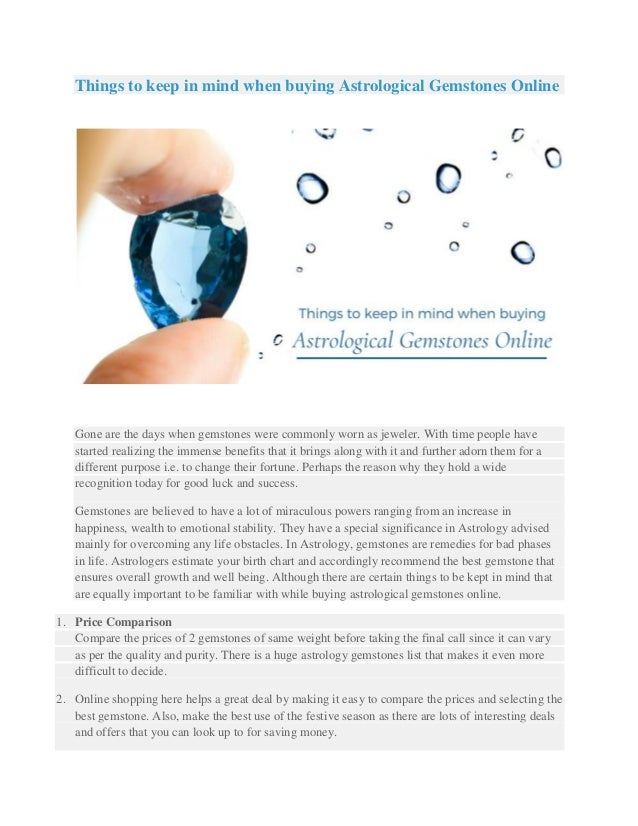 Buy Astrological Gemstones Online with Gemstones