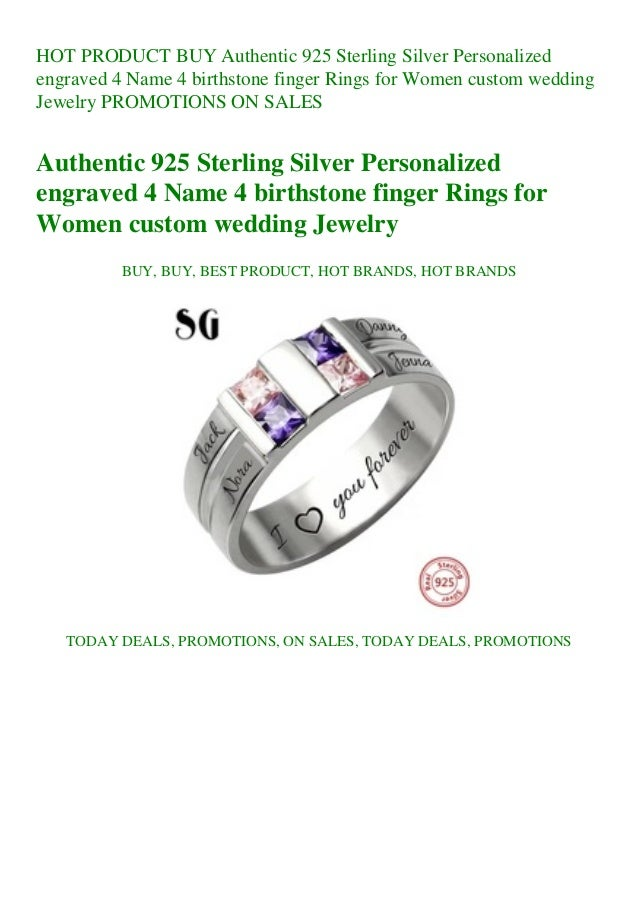 925 Sterling Silver Personalized Ring 2 Names Engraved Customized Name Text Ring for Men Women