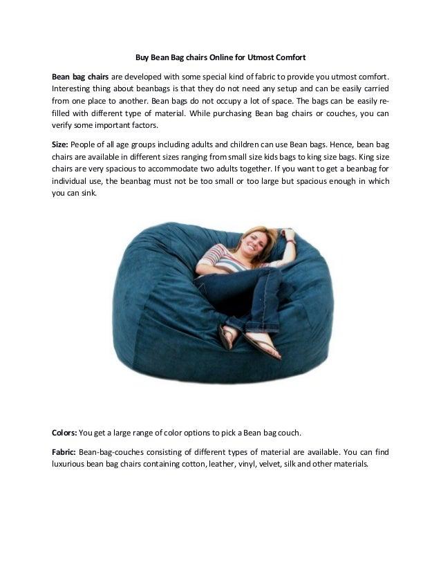 Outstanding Buy Bean Bag Chairs Online For Utmost Comfort Ncnpc Chair Design For Home Ncnpcorg
