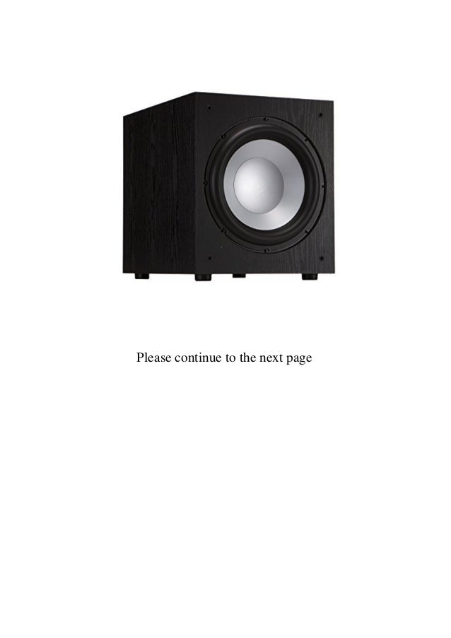 Buy Best Product Jamo J-12 Subwoofer 350 Watt 12 Inches Review