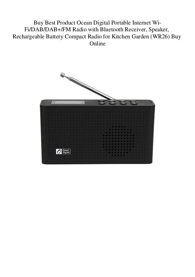 Buy Best Product Ocean Digital Portable Internet Wi-FiDABDAB+FM Radio…